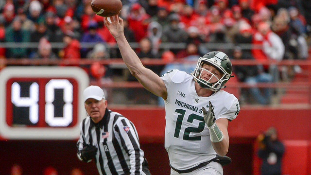 Barret Pickering's 3 field goals lift Nebraska over Michigan State