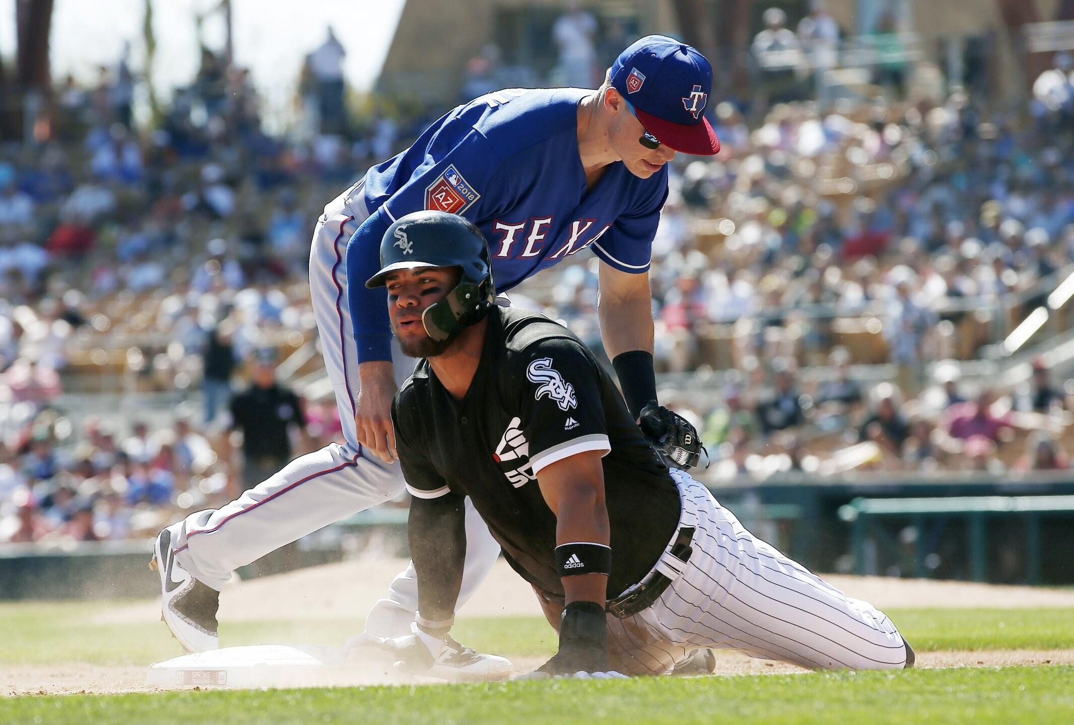 Rangers White Sox Spring Baseball