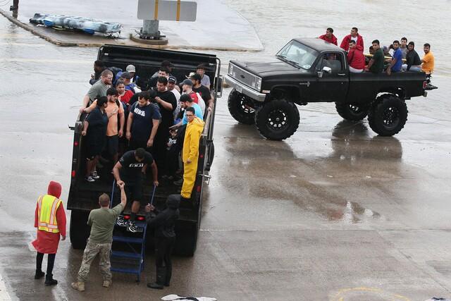 Hurricane Harvey rescue efforts