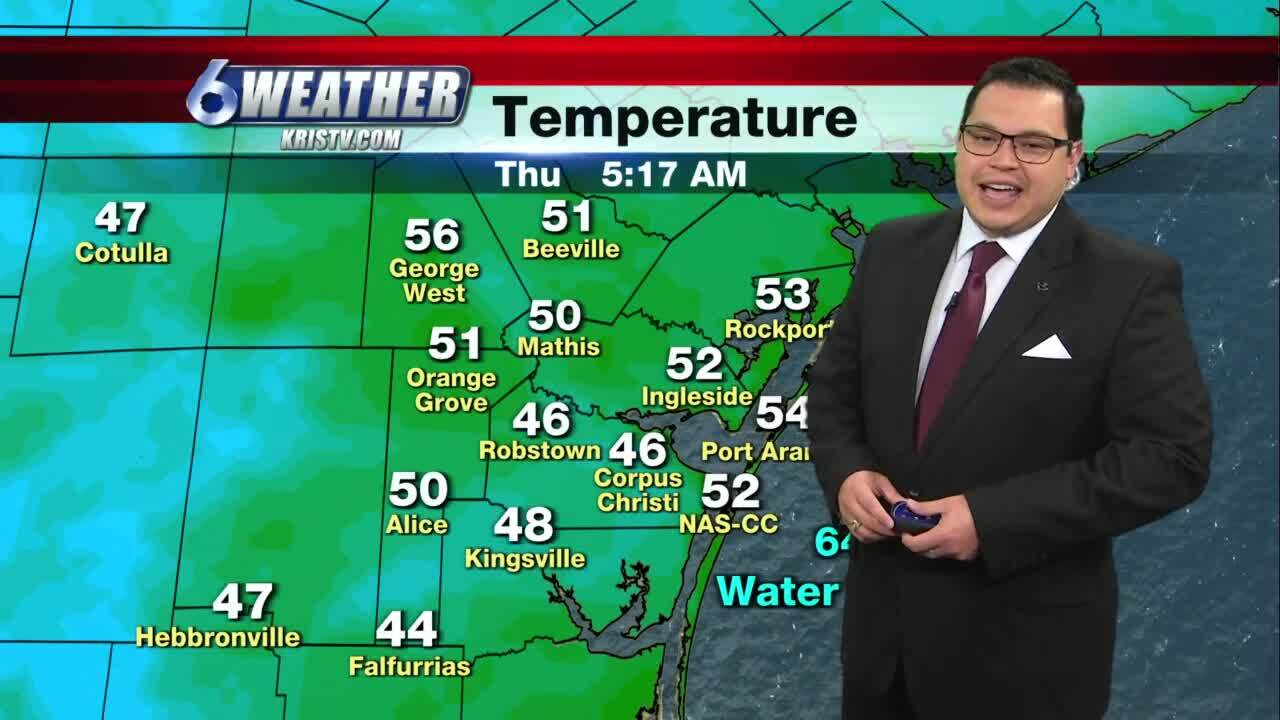 Juan Acuña's weather for Jan. 7, 2021