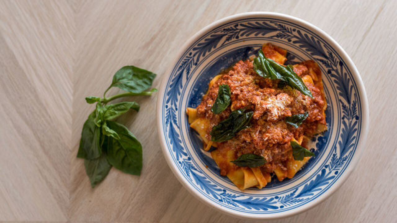 It's all about pasta on National Pasta Day