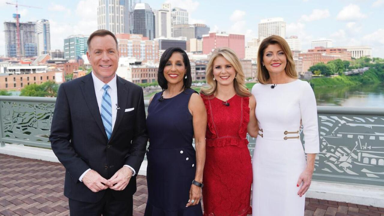Cbs Evening News Anchor Norah O Donnell Visits Newschannel 5