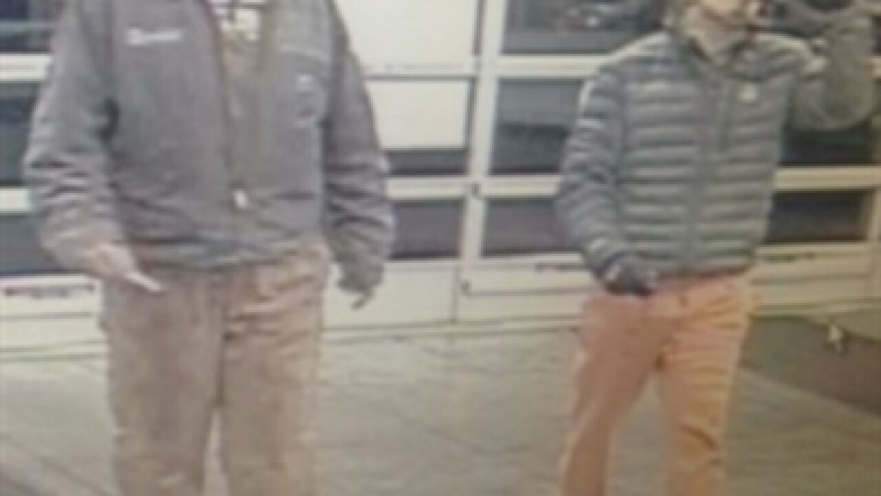BPD hoping to speak with two men about thefts