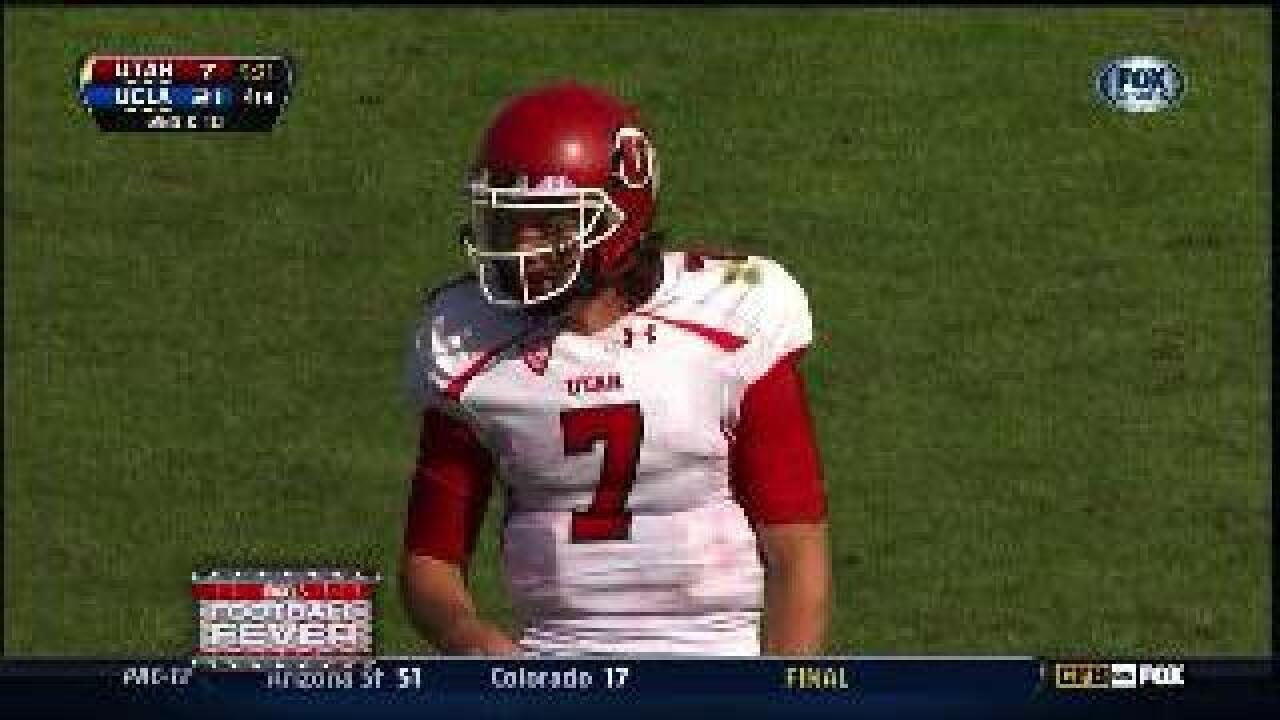 Utes lose to UCLA 21-14 in QB Wilson's first start