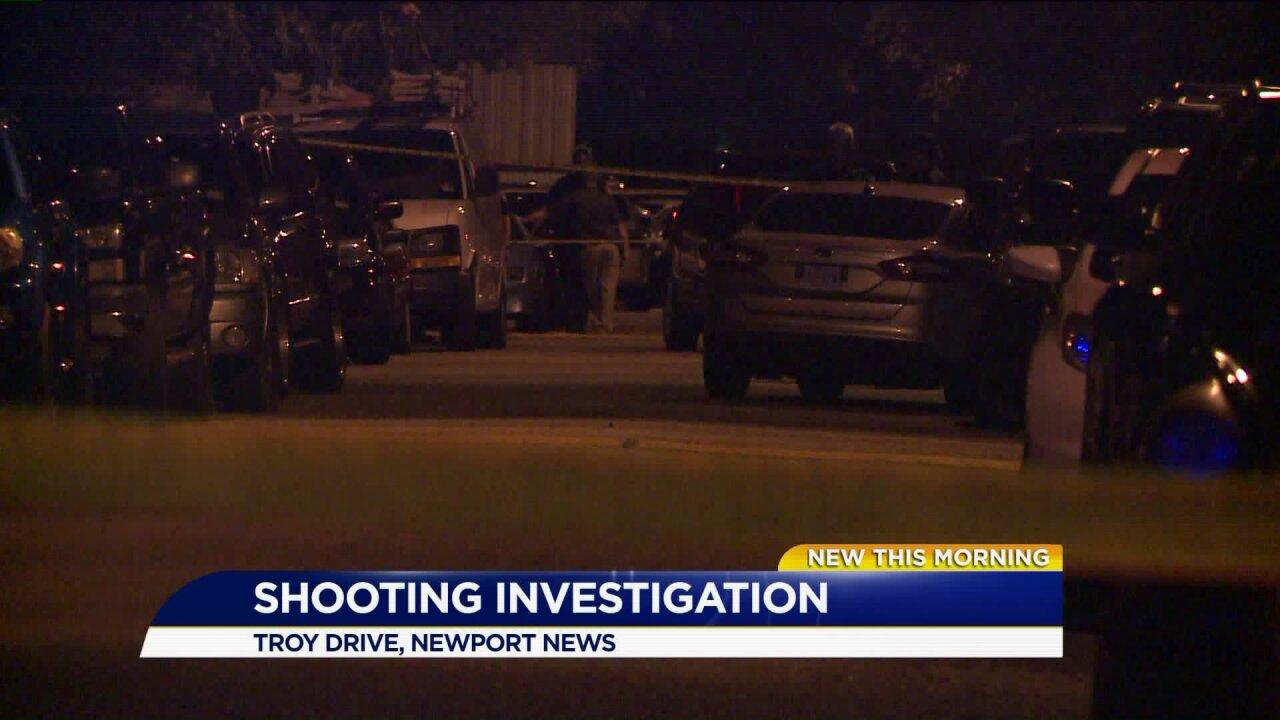 Woman shot in torso in NewportNews