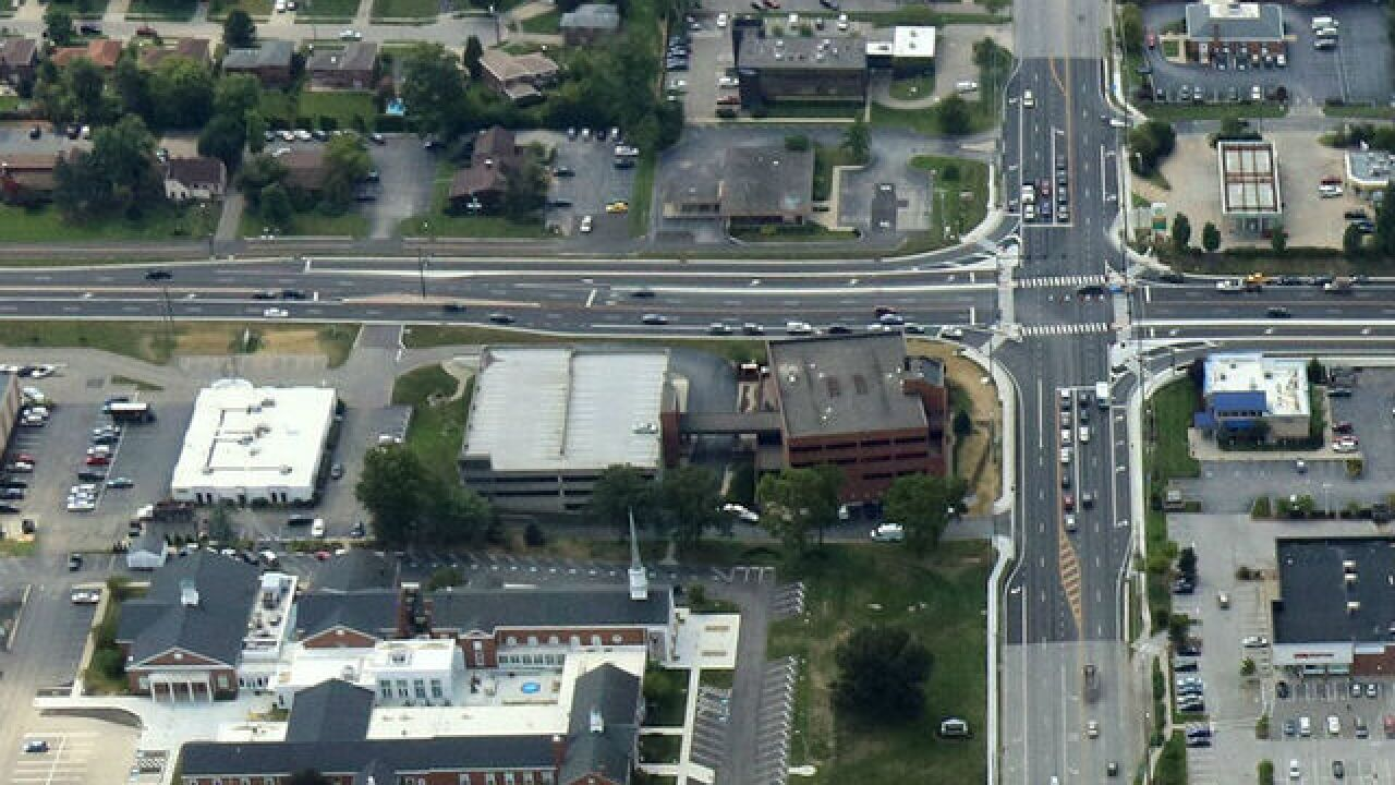Five Mile Road, Beechmont Avenue intersection safer and faster after redesign
