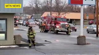 Emergency crews responding to fire in Great Falls