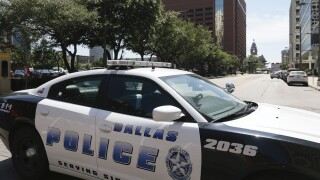 Dallas Police cruiser car