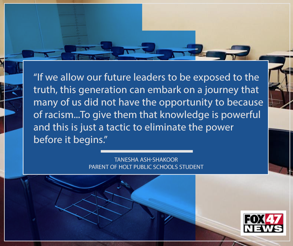 Thoughts from parent Tanesha Ash-Shakoor on Critical Race Theory
