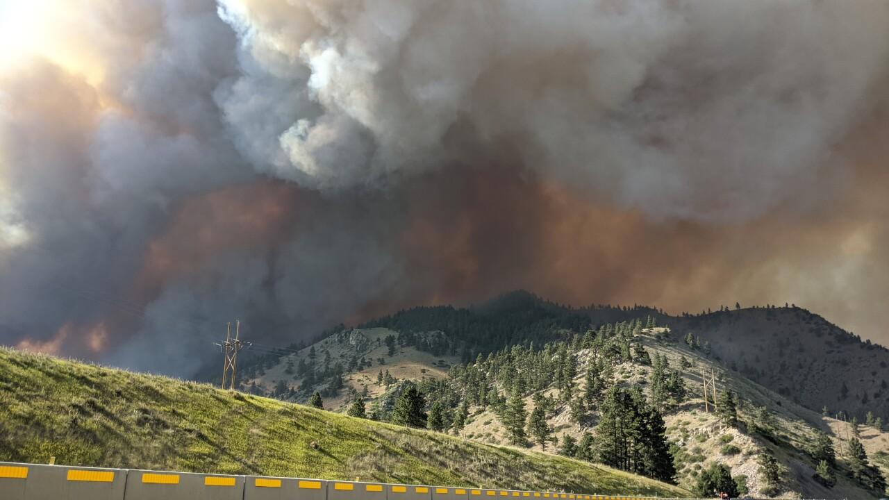 Rock Creek Fire (Saturday July 10, 2021)