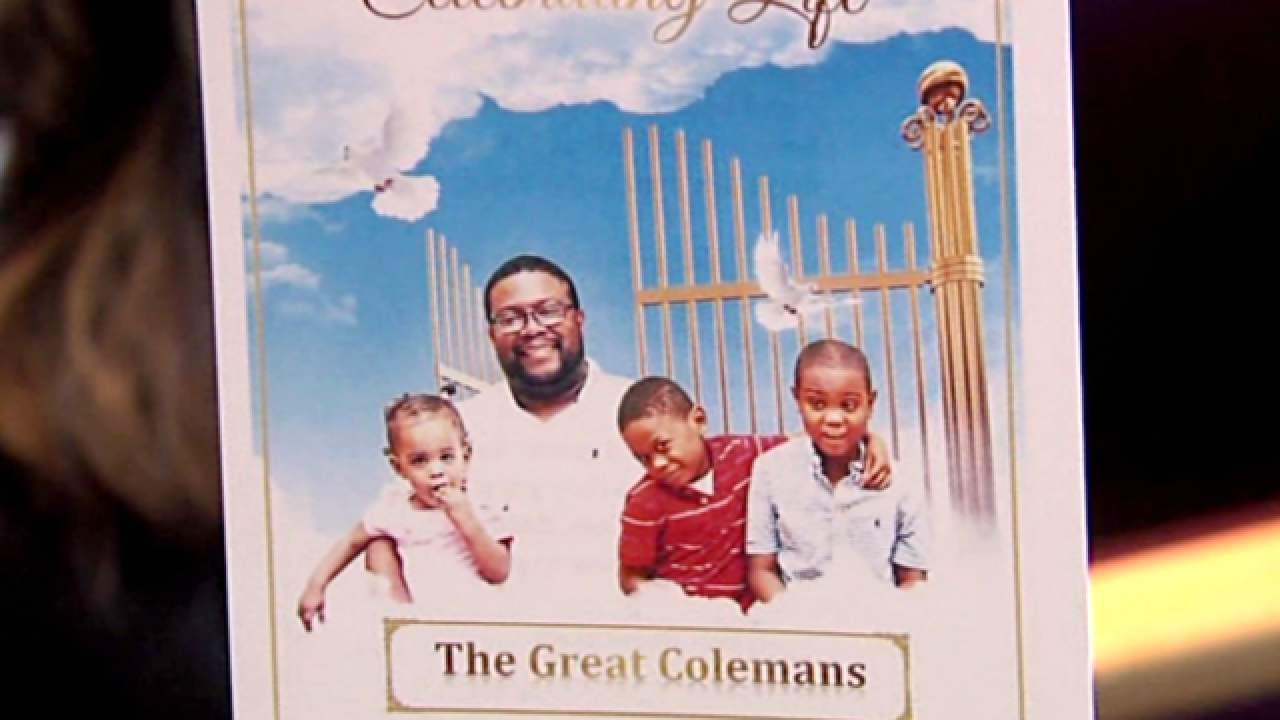 Coleman family lays father, 3 children to rest