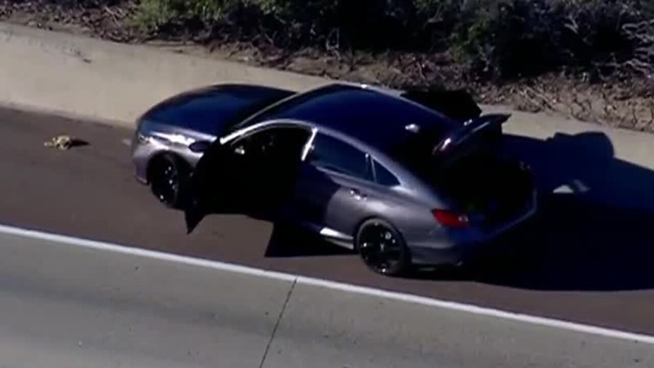 Pursuit from Orange County to San Diego Jan. 8, 2019
