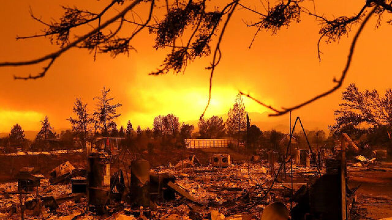 Northern California wildfire kills two, destroys homes in Redding