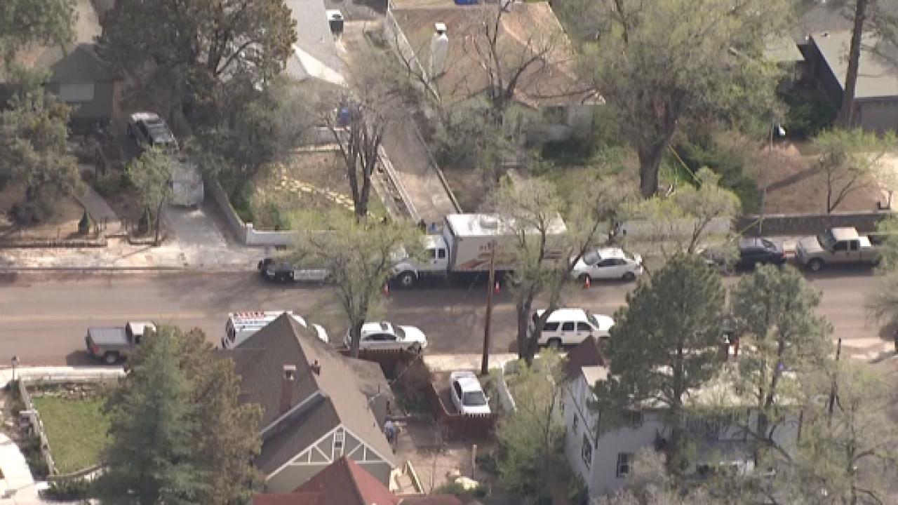 KNXV Prescott murder scene