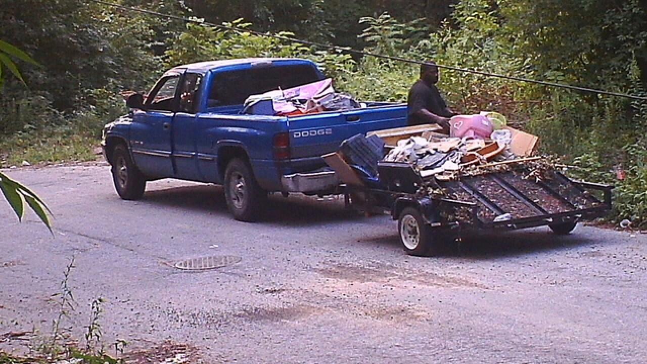 KCMO seeks to ID suspected illegal dumper