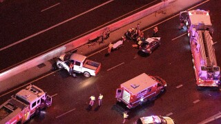 Crash SB I-17 and McDowell