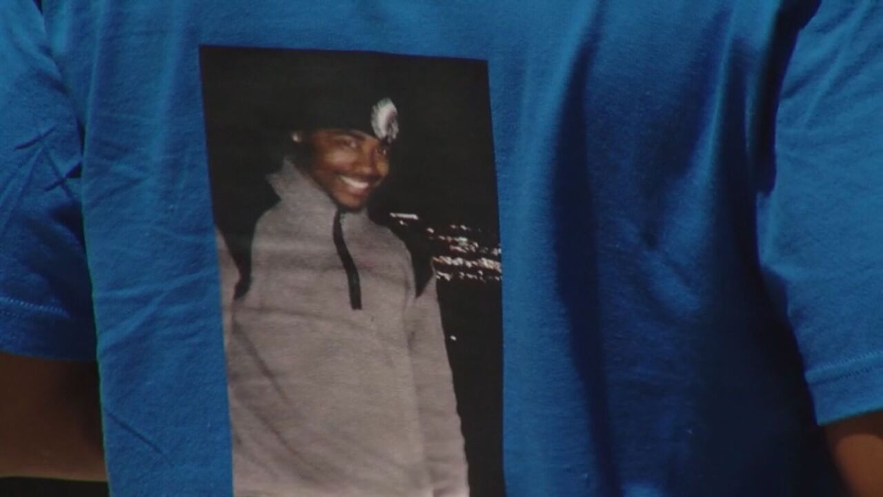 Picture of Devon Bailey on a t-shirt