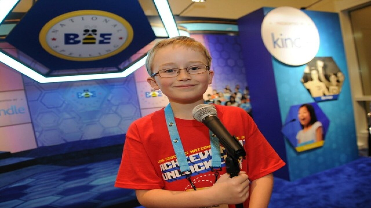 PHOTOS: Will McCollom at Scripps National Bee