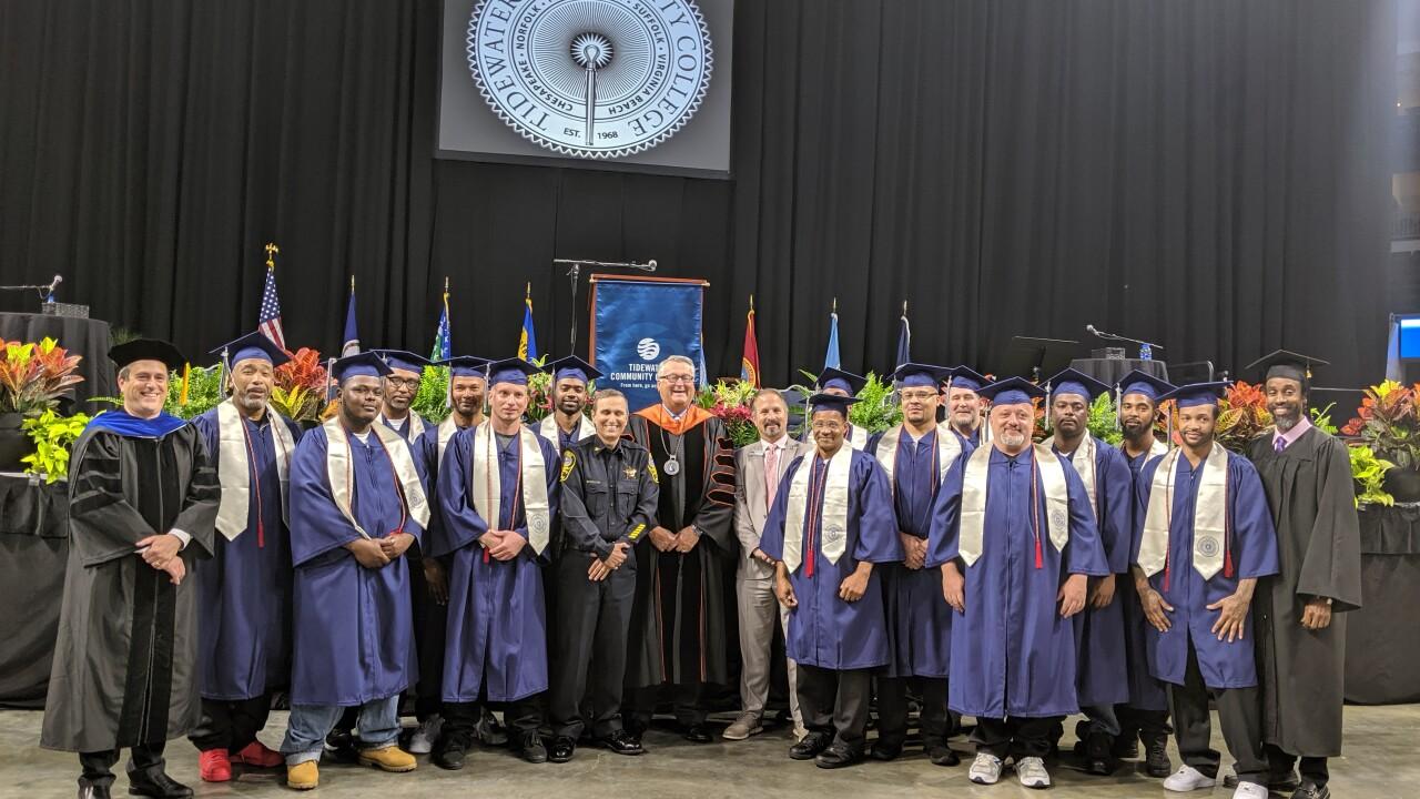 New life, new career: Former inmates graduate alongside TCCstudents