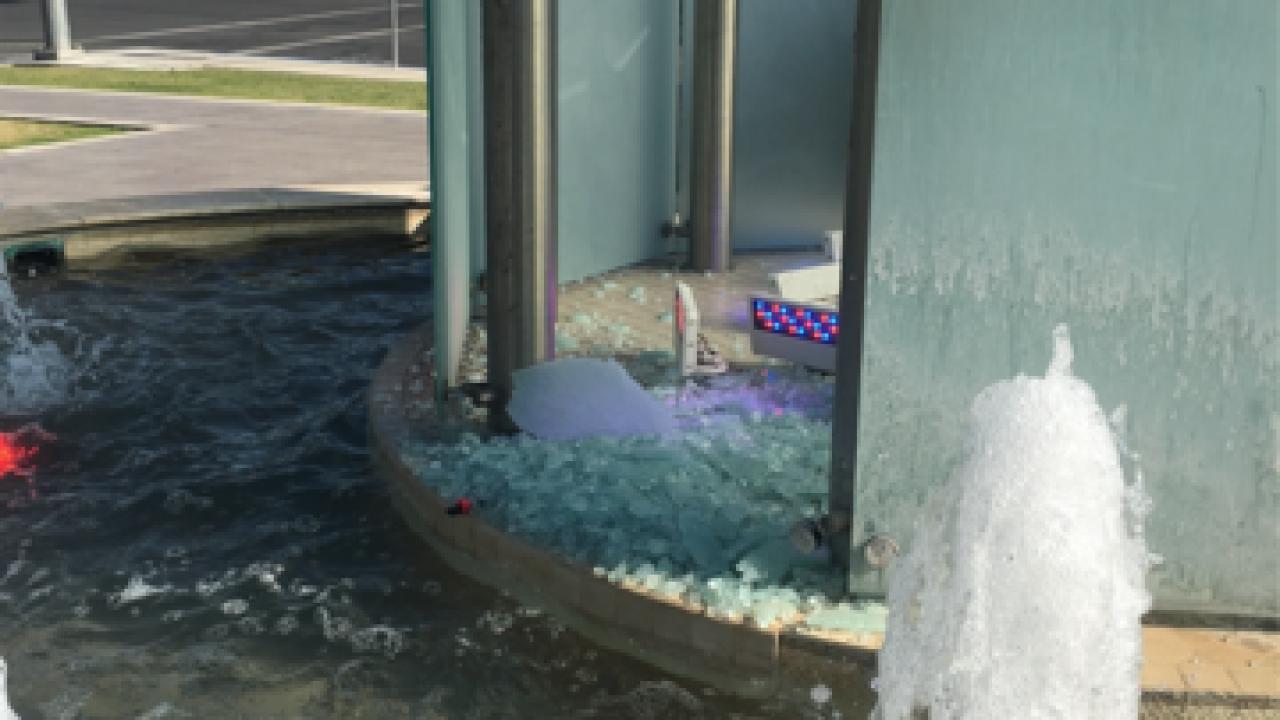 Kern Veterans Memorial vandalized