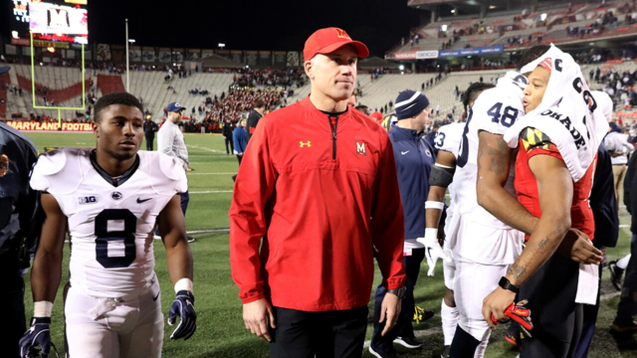 Maryland football coach DJ Durkin put on leave