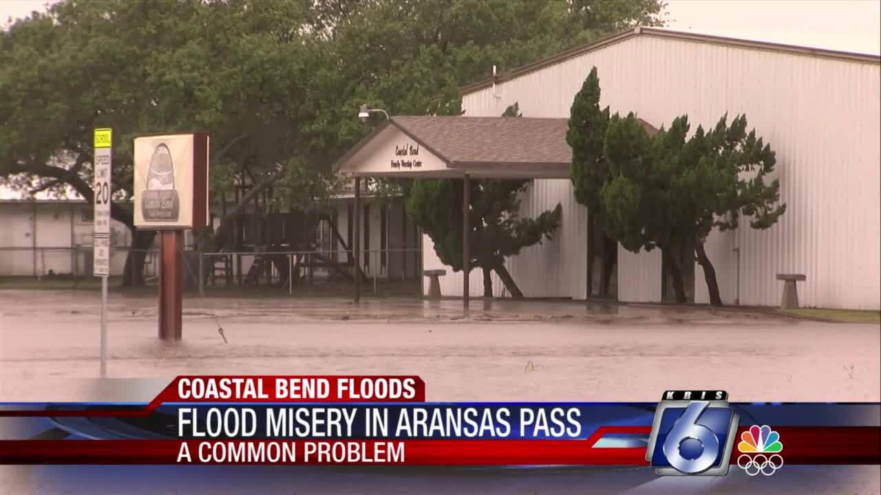 Aransas Pass residents troubled by continuous flooding