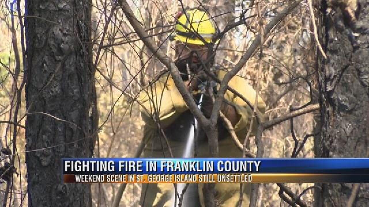 Franklin County Officials Keeping Close Eye on SGI Fire