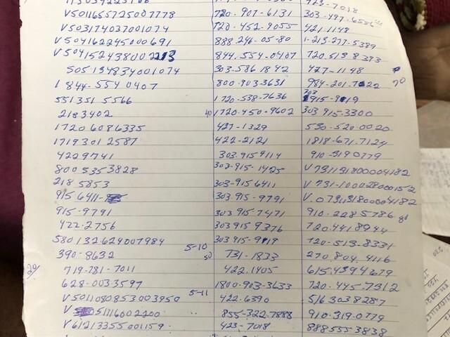 Robocall List