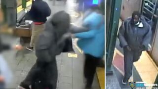 Man shoved onto subway tracks in Brooklyn