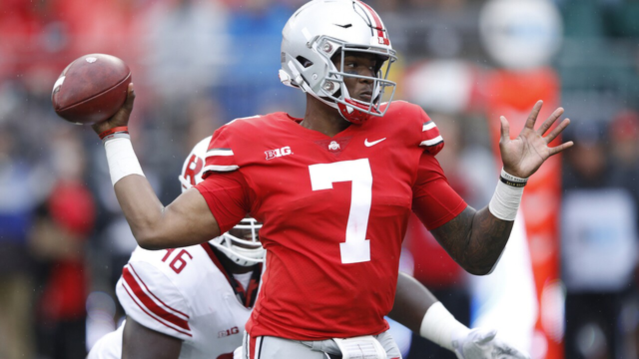 After a 2-year wait, Haskins takes control at Ohio State