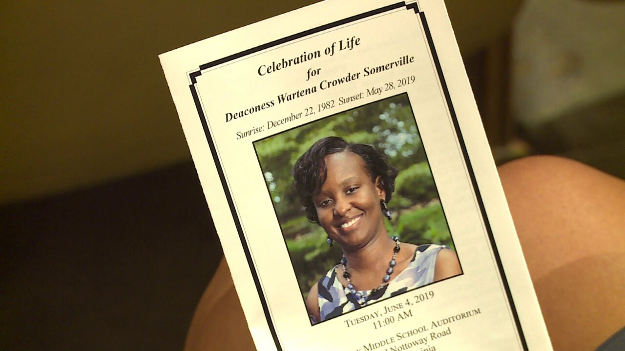 Hundreds celebrate the life of church van accident victim who 'touchedlives'
