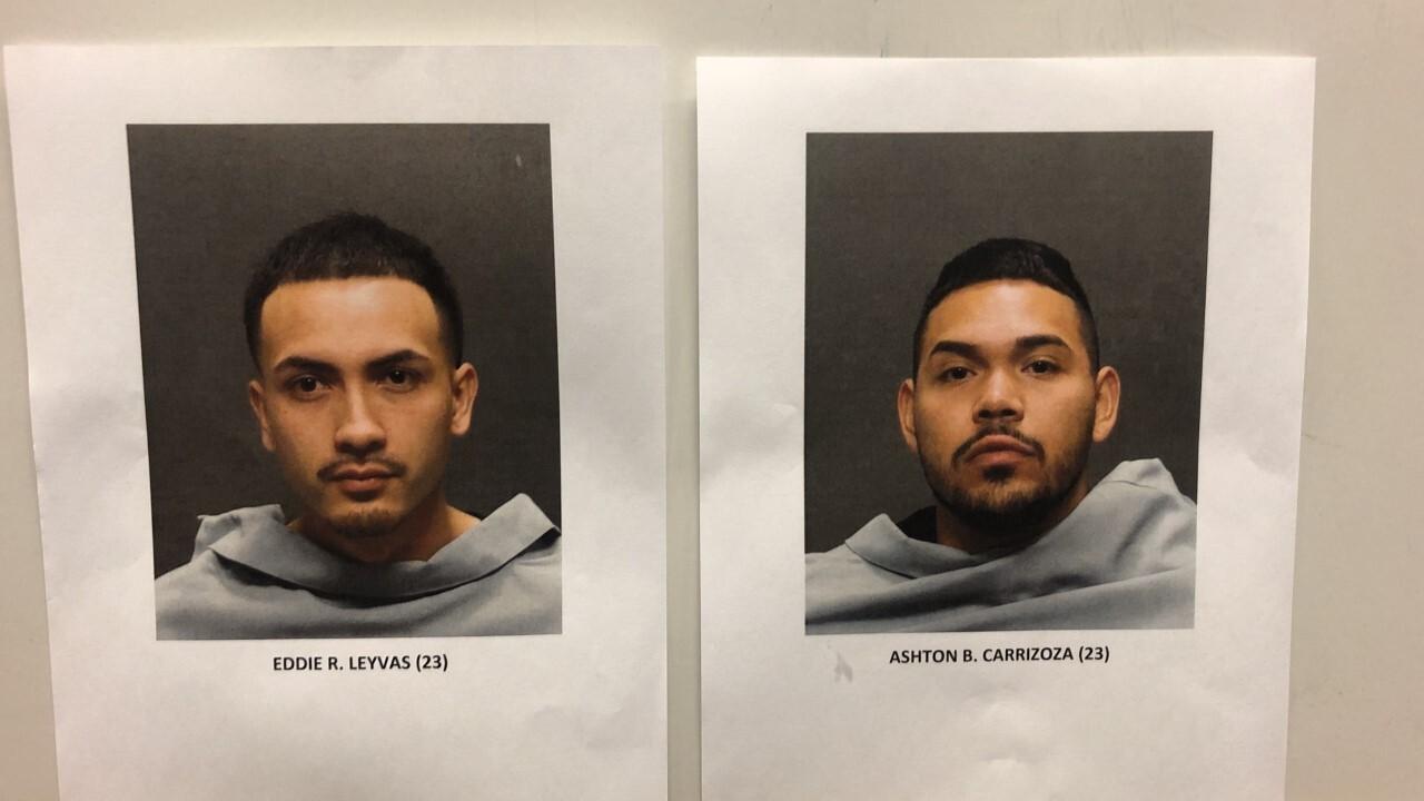 Eddie Leyvas & Ashton Carrizoza Hi Fi arrests
