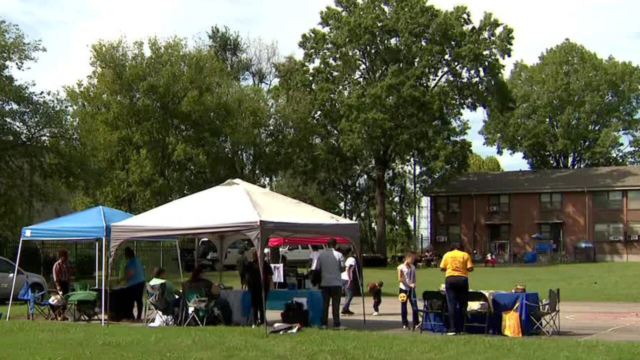 200 Man Stand Encourages Community To Register To Vote