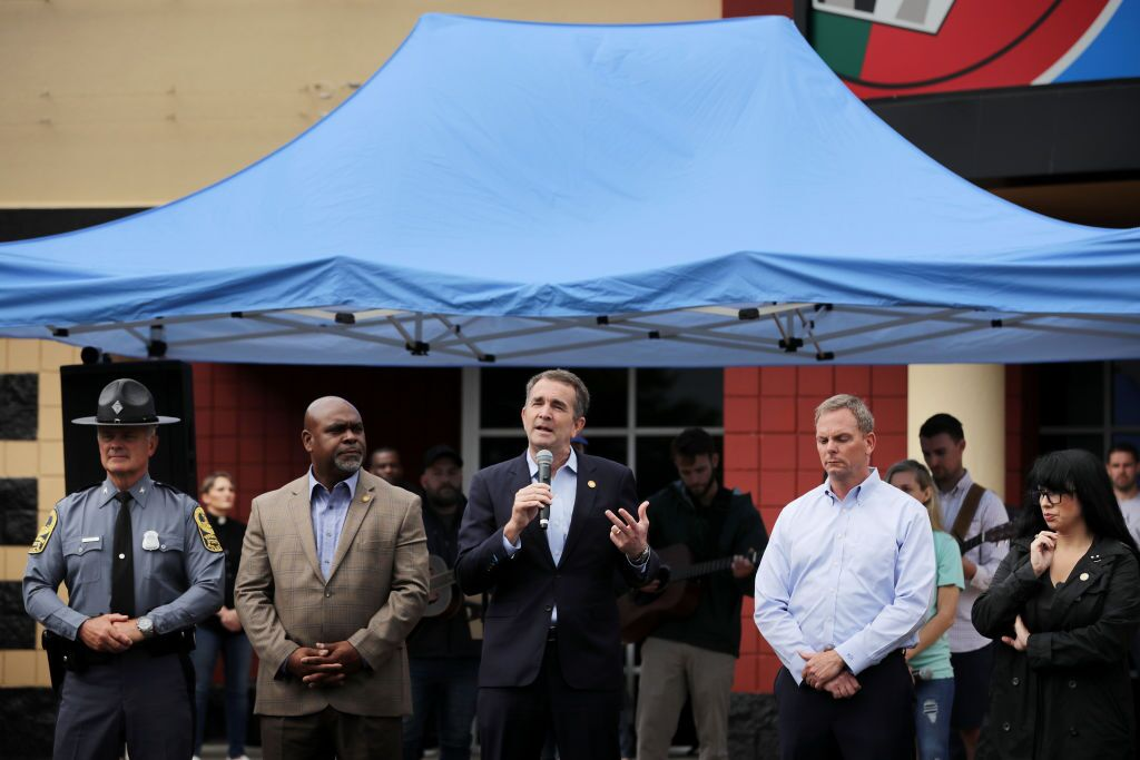 Photos: Gov. Northam reels from mass shooting after falling short on gun reforms