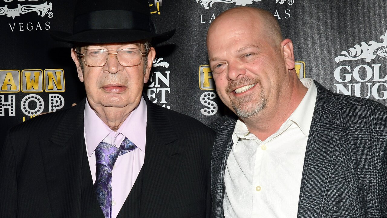 'Pawn Stars' star Richard Harrison, known as 'The Old Man,' dies