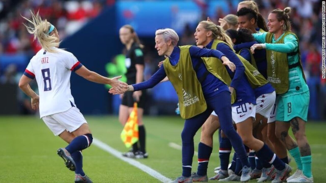 USWNT dominates Chile to coast into Women's World Cup last 16