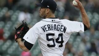 Drew VerHagen to start for Tigers in series opener at Seattle
