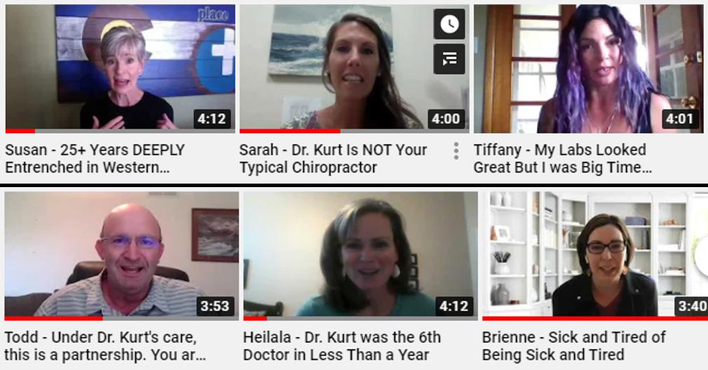 Dr. Kurt's client testimonials