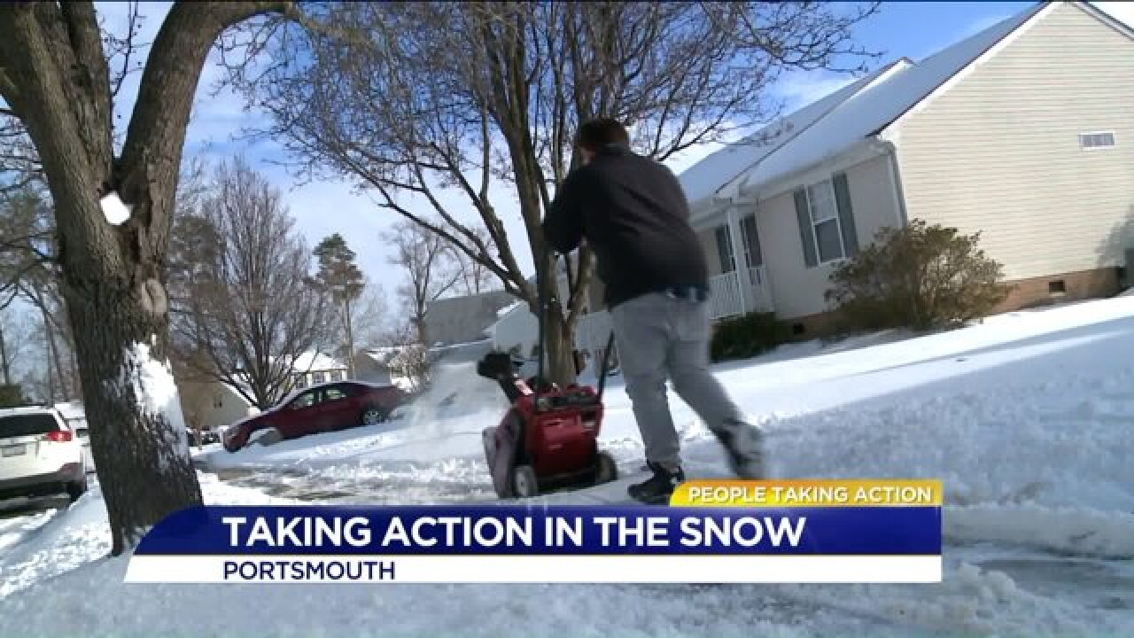 People Taking Action: 9-year-old uses snow-blower to take action for neighbors