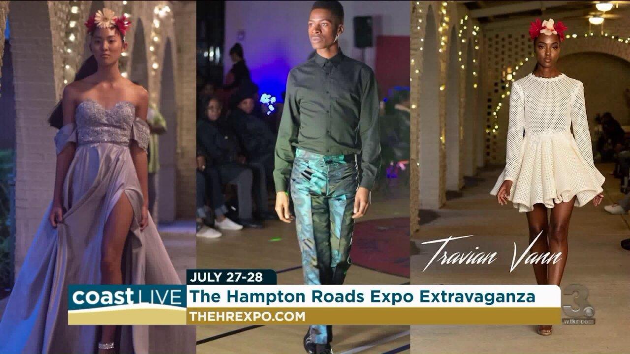 A live fashion show to prepares for the Hampton Roads Expo Extravaganza on CoastLive