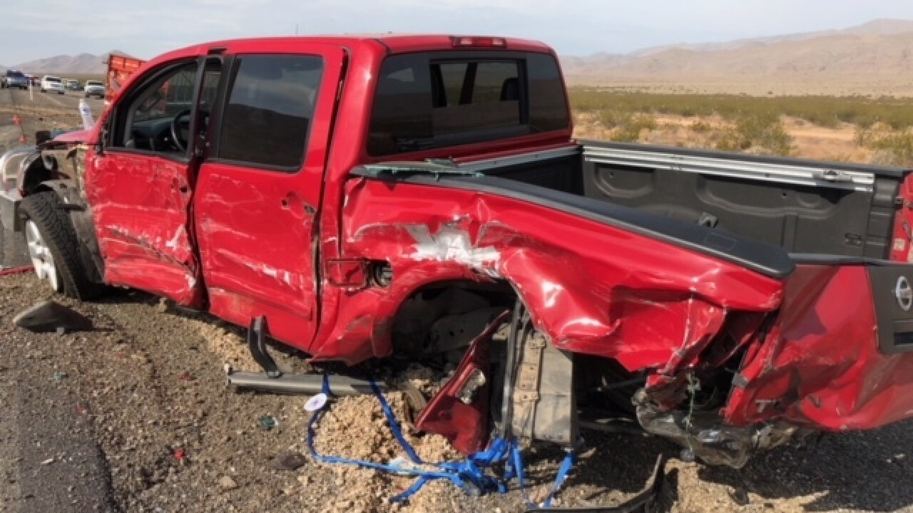 2 killed in fatal multi-vehicle crash on US 93