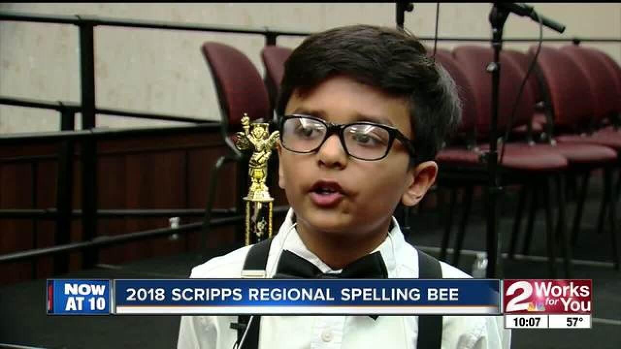 Jenks 9-year-old wins 2018 Regional Spelling Bee