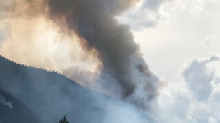 There are 278 people assigned to fight the fire that's 0% as it burns in steep and rough terrain. (USFS photo)