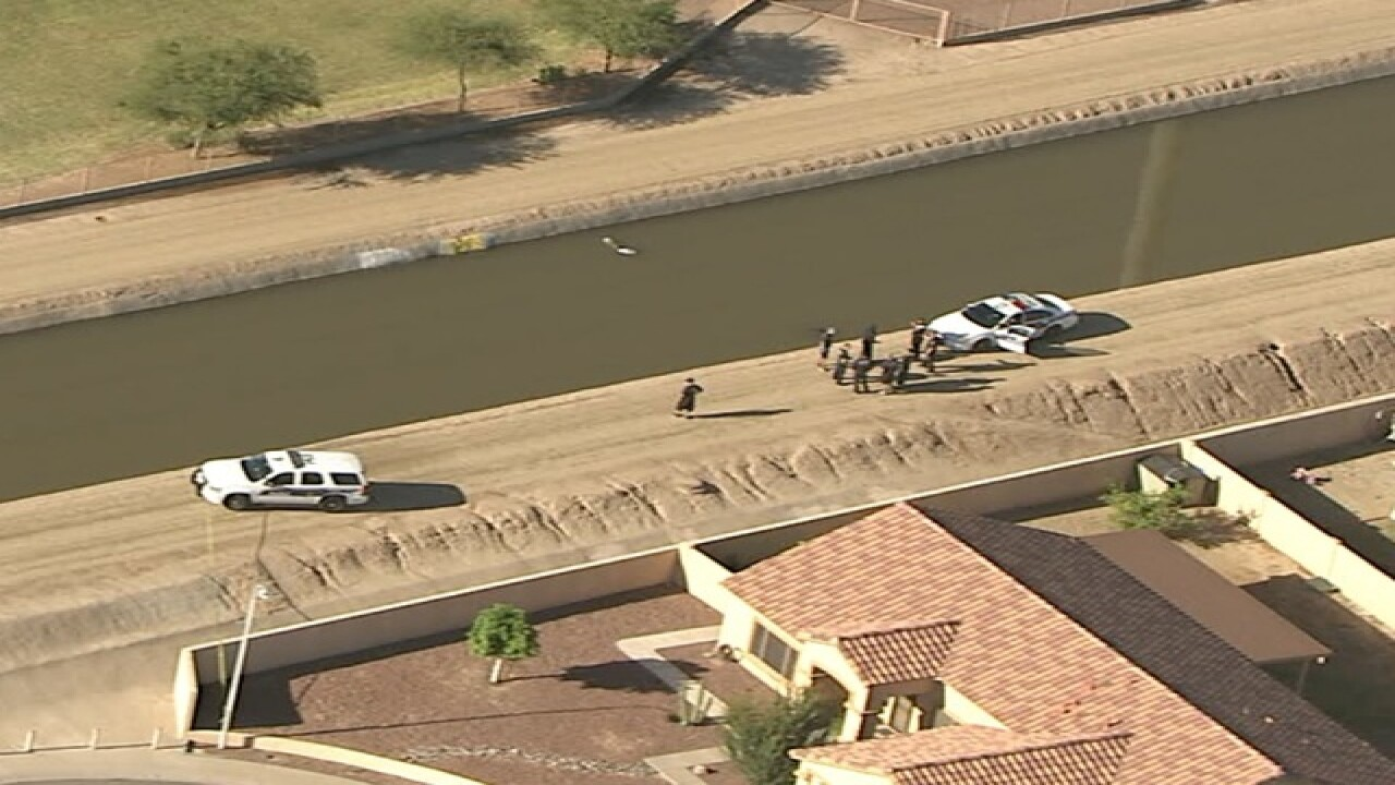 PHX FD: Body found in south Phoenix canal