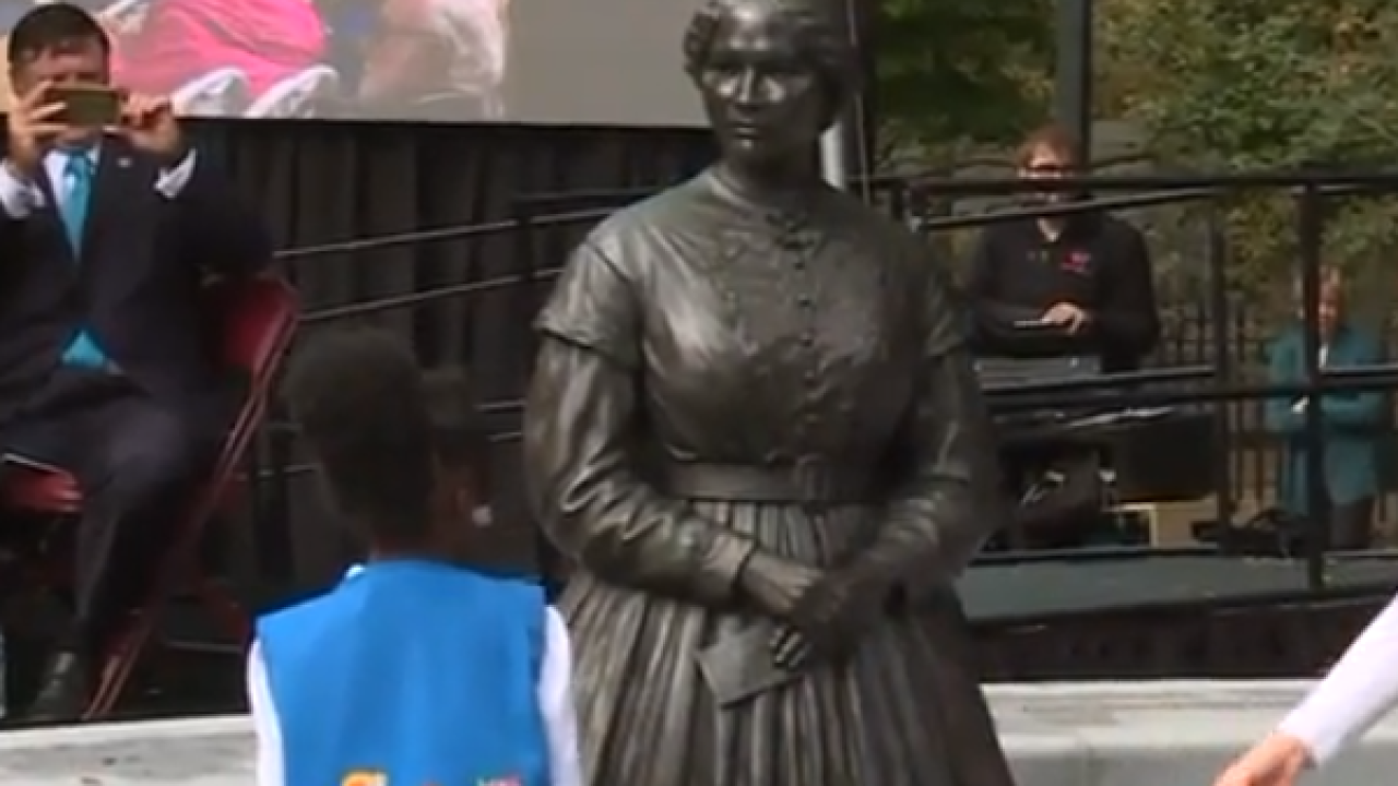 Virginia Women's Monument unveiled in Richmond