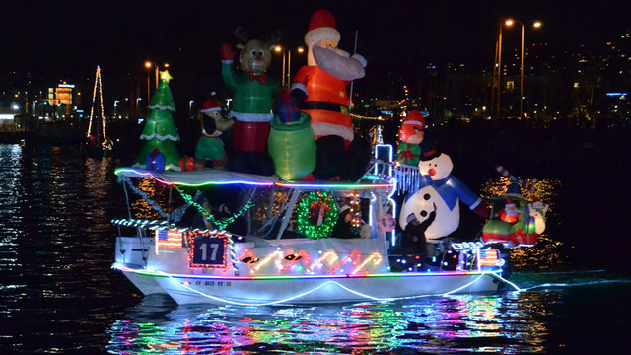 Holiday parades hitting San Diego's roads, waterways this season
