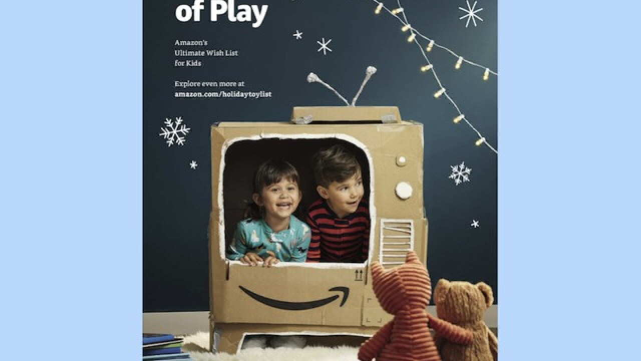 Check out Amazon's first-ever printed toy catalog