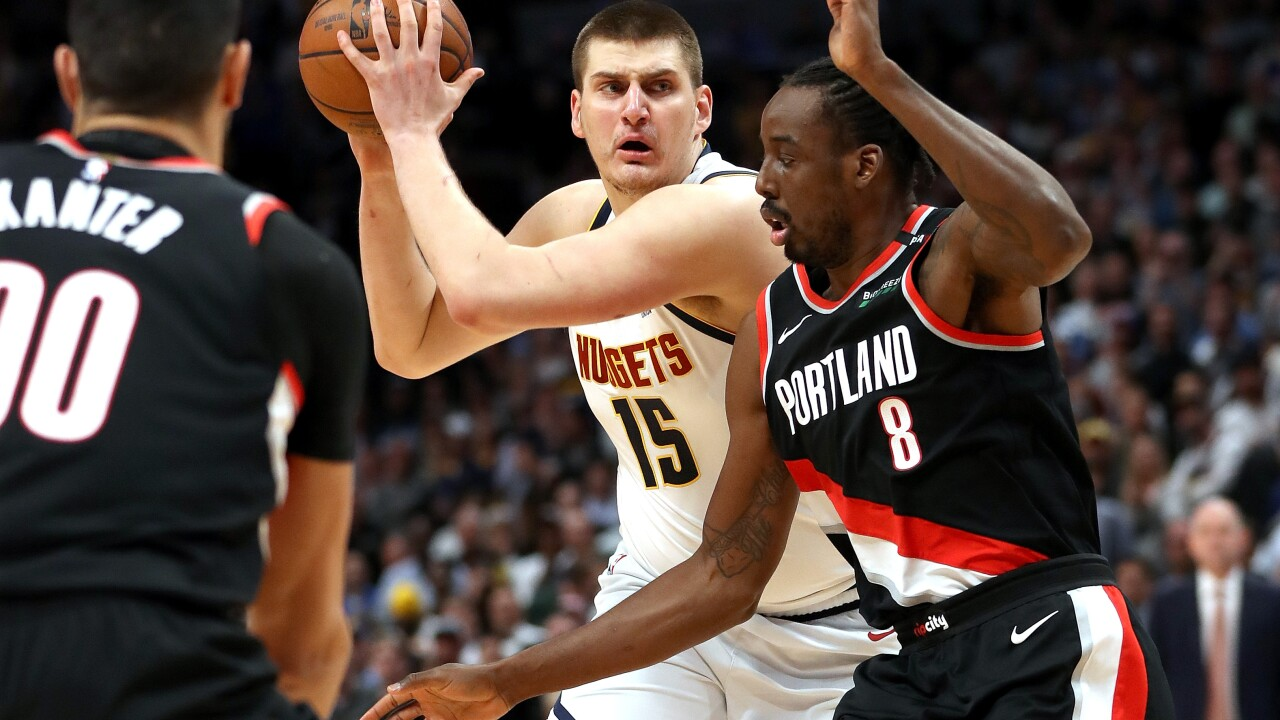 Portland Trail Blazers v Denver Nuggets - Game Five