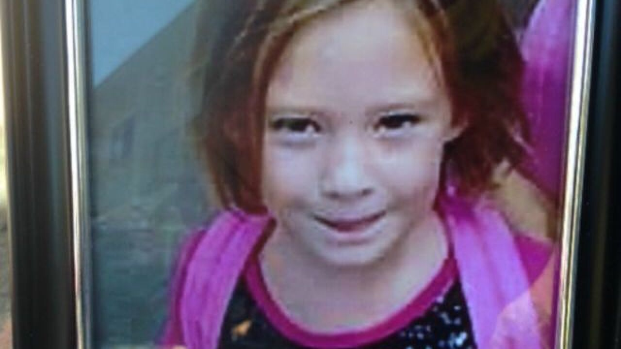 7-year-old girl dies after being struck by truck