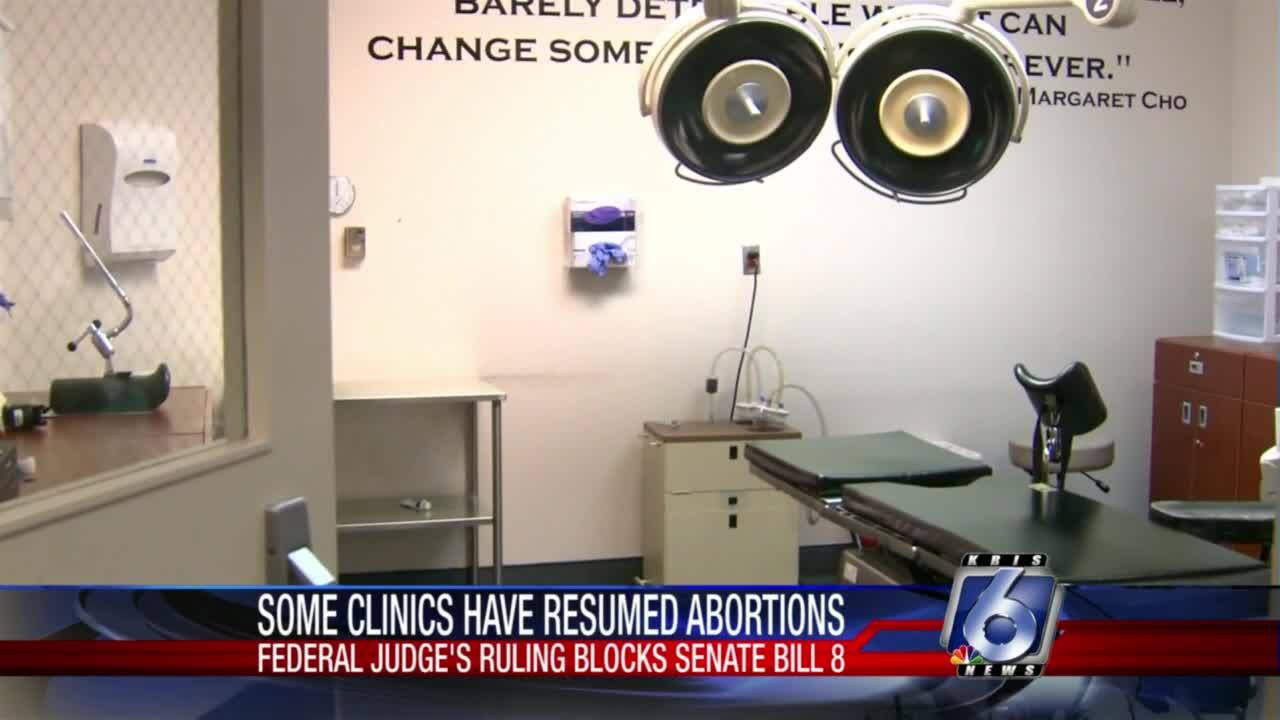 Reports indicate abortions have resumed across Texas